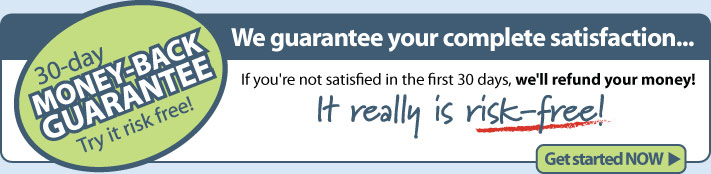 money-back guarantee for site design